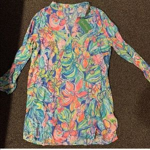 Lilly Pulitzer Swim cover-up dress